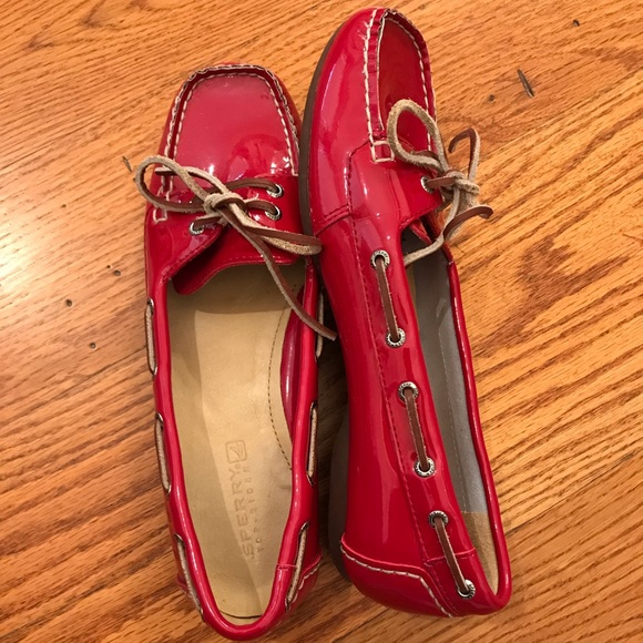 Sperry Shoes - NWOT Sperry Top-Sider, Red